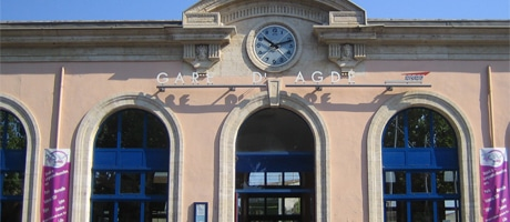 Agde train station