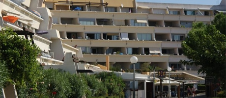 Heliopolis apartments in Agde.