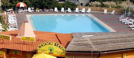 Swimming pools in Cap d'Agde