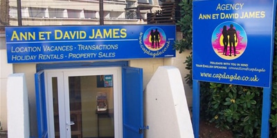 David and James office